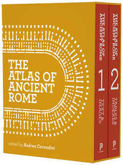 The Atlas of Ancient Rome book cover