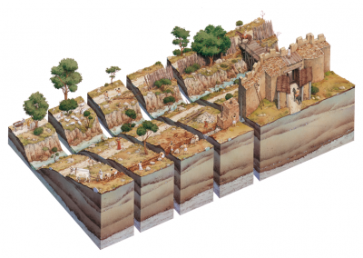 Construction of the Wall of Romulus