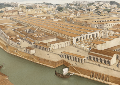 Emporium on the banks of the Tiber